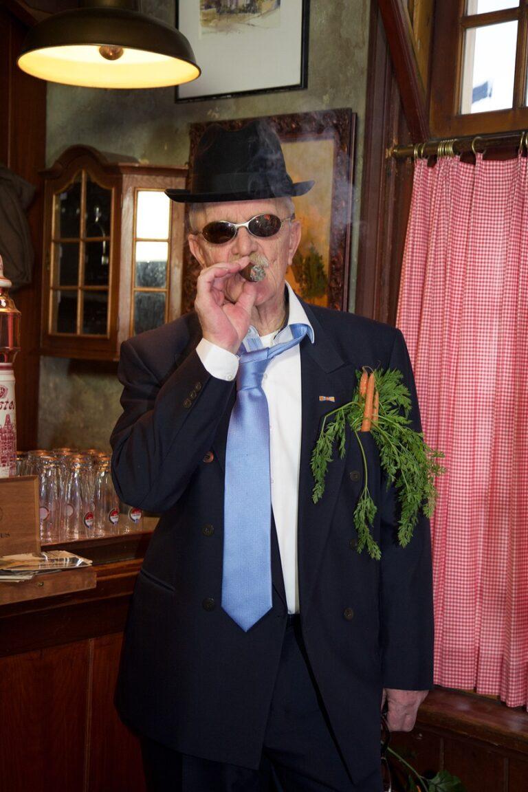 Ernst Wortel in 't Bonte Paerd in Laren NH